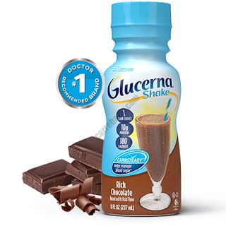 Glucerna-Rich Chocolate Shake-Best Meal Replacement Shakes For Diabetics
