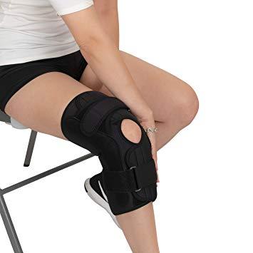 New Bariatric Open Patella Plus Size Hinged Knee Brace (Mars Wellness)