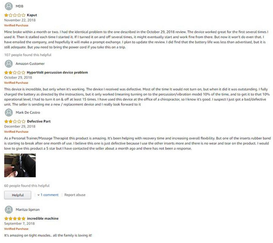 HypericeHypervoltCustomer Reviews