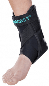 hinged ankle brace