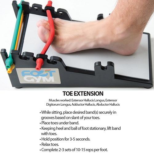 Extensor Tendonitis Foot Exercises