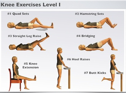 Inner Knee Pain Exercises
