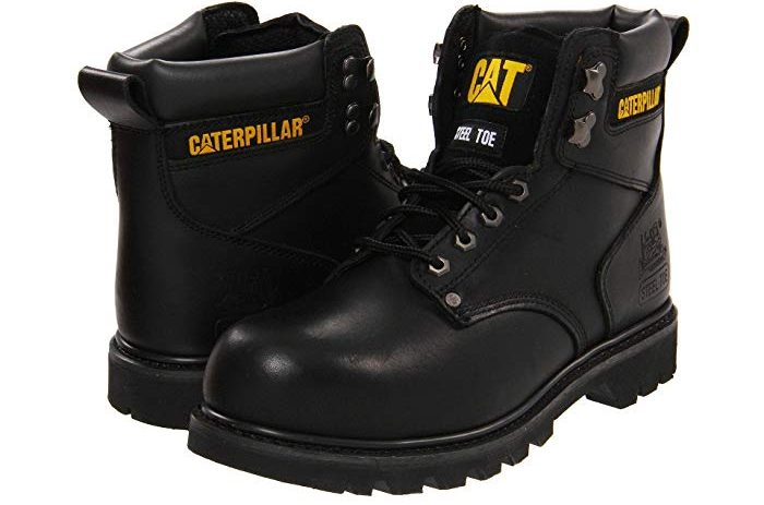 Caterpillar Mens 2nd Shift 6 Plain Soft Toe Work Boot