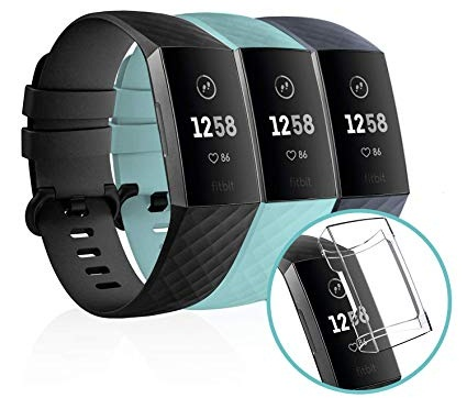 Fitbit Charge 3 with heart rate monitor