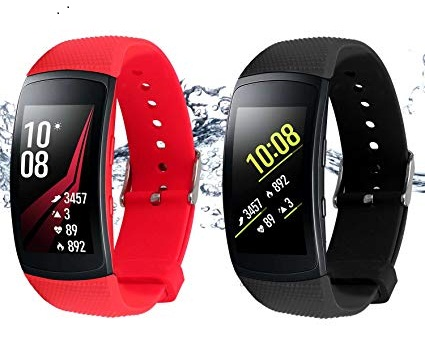 Samsung Gear Fit2 Pro Smartwatch Fitness Band- Best Fitness Tracker for Swimming