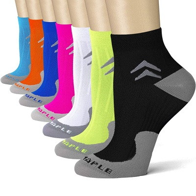 Blueample Ankle Compression Socks