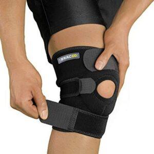 Bracoo Breathable Neoprene Open Compression Knee Sleeve
