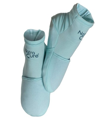 NatraCure Cold Therapy compression plantar fsciitis socks