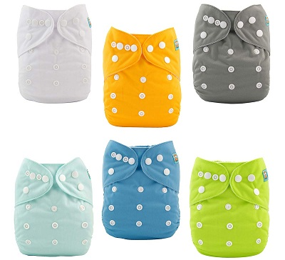 ALVABABY Baby Cloth Diapers