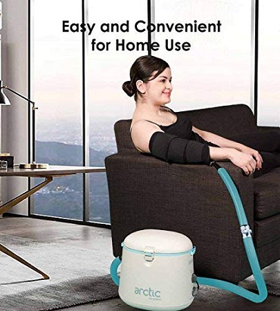 Cryotherapy Arctic Ice Therapy machine for Knee, Elbow, Shoulder, Swelling, Sprains and Post Surgery Care