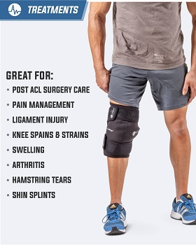 ActiveWrap Knee Ice Pack Wrap for Knee