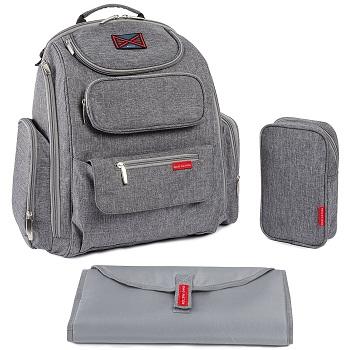Bag Nation Diaper Bag Backpack with Stroller Straps