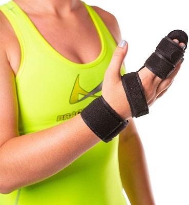 BraceAbility Two Finger Immobilizer