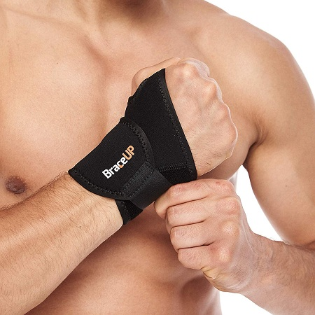 BraceUP® Adjustable Wrist Support, One Size Adjustable