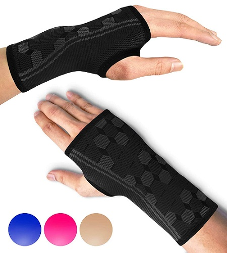 Sparthos Medical Compression for Carpal Tunnel and Wrist Pain Relief