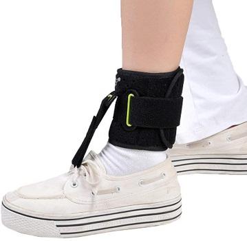 Adjustable Foot Drop Ankle Brace