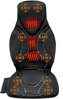 FIVE S Vibration Massage Seat Cushion - Back Massager For Chair