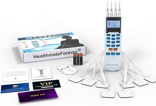 HealthmateForever YK15AB TENS Unit With  8 Pads