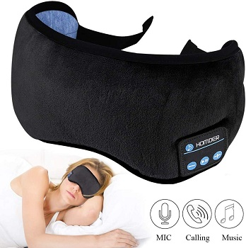 Homder Noise Cancelling Sleeping Mask With Headphones