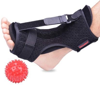 Plantar Fasciitis Night Splint Foot Drop Orthotic Brace