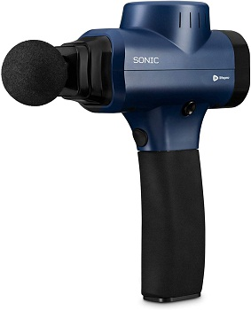 Sonic Handheld Percussion Massage Gun - Deep Tissue Massager for Sore Muscle and Stiffness