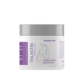 TriLASTIN Maternity Stretch Mark Prevention Cream, Unscented
