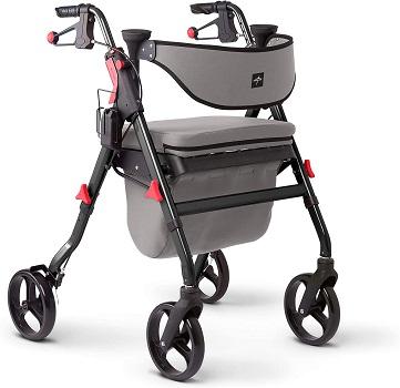 Medline Premium Empower Rollator Walker with Seat