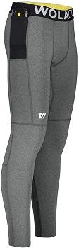 WOLACO Fulton Full-Length Compression Pants