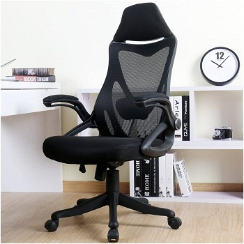 BERLMAN Ergonomic High Back with Adjustable Armrest Lumbar Support