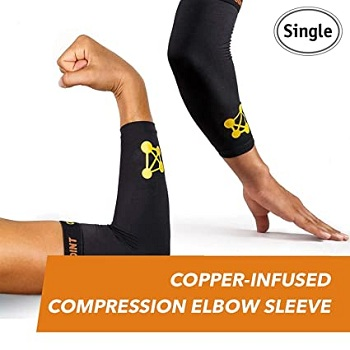 CopperJoint - Compression Elbow Sleeve (Small)