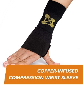 CopperJoint Compression Wrist Sleeve