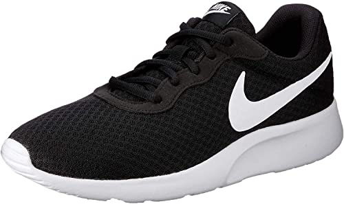 NIKE Men's Tanjun Sneakers, Breathable Textile Uppers, and Comfortable Lightweight Cushioning