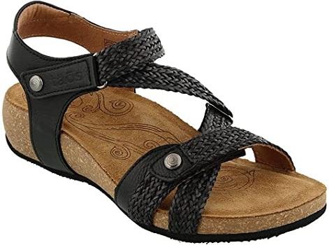 Taos Footwear Women's Trulie Leather Sandal