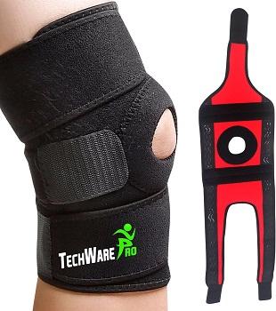 TechWare Pro Knee Brace Support (open patella)