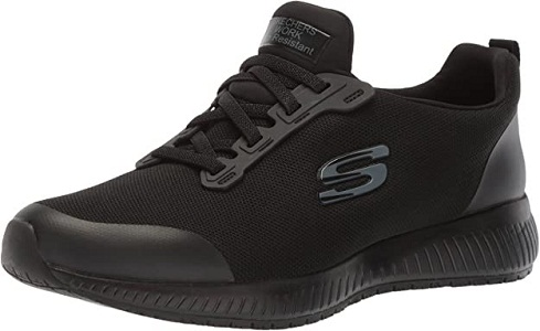 The Sketchers for Work Women's Squad SR Food Service Shoe