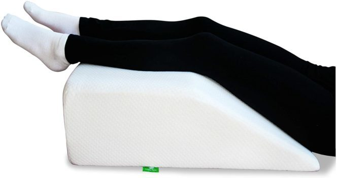 Post-Surgery Elevating Leg Rest Pillow with Memory Foam