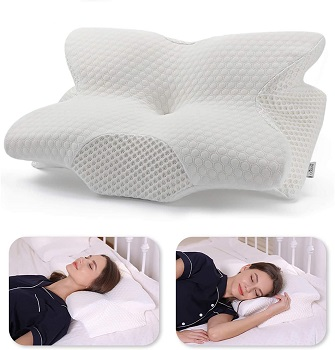 Coisum Back Sleeper Cervical Pillow