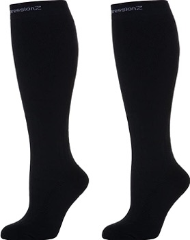 CompressionZ Compression Socks 20-30 mmHG for Men & Women