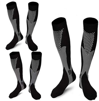 Daily_Use 3 Pairs Medical & Athletic Compression Socks for Men