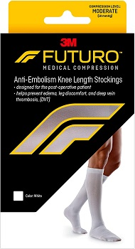 Futuro Anti-Embolism Knee Highs