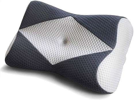 Mkicesky Memory Foam Cervical Pillow