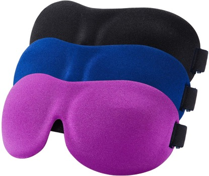 YIVIEW Sleep Mask Pack of 3
