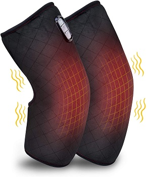 Comfer Heated Knee Brace Wrap with Massager