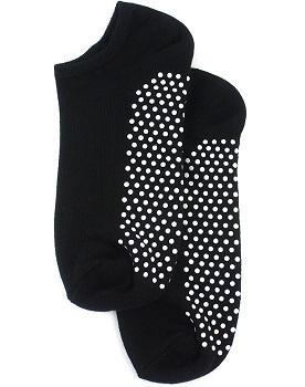 Non Slip Skid Socks with Grips, For Hospital, Yoga, Pilates by Lucky 21