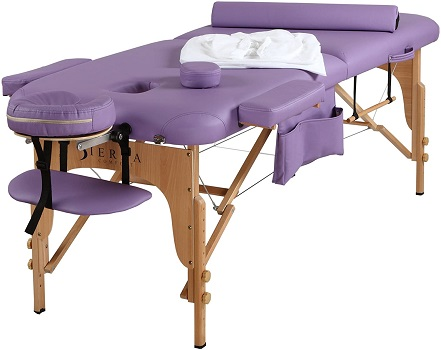 SierraComfort All Inclusive Portable Massage Table