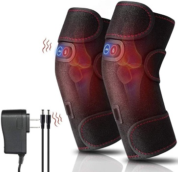 VALLEYWIND Heated and Vibration Massage Knee Brace Wrap