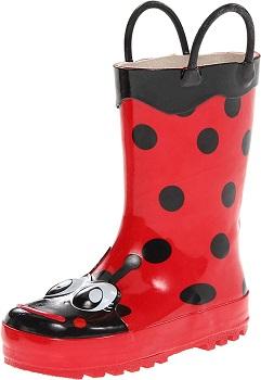 Western Chief Girls' Waterproof Printed Rain Boot