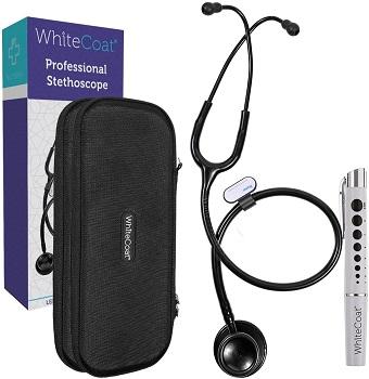White Coat Dual Head Professional Stethoscope