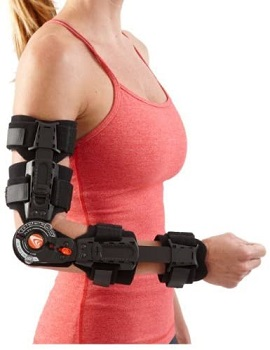 Breg T-Scope Elbow Brace (Right - Long)