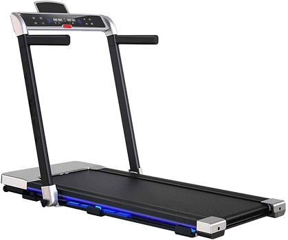CHENNAO Motorized Folding Running Treadmill